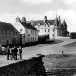 Old Photograph Quay Street Ullapool Scotland