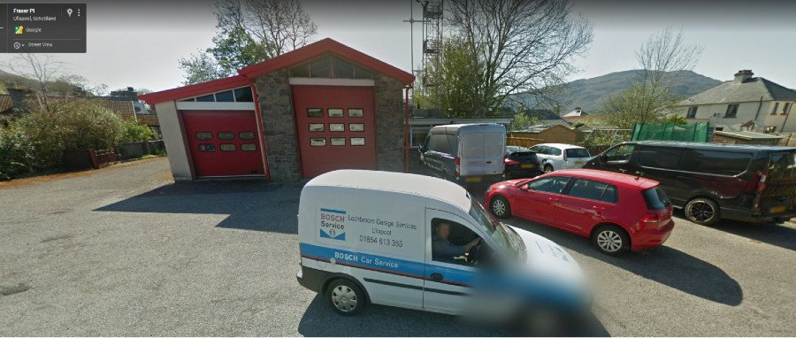 Ullapool Fire Station - from Google Street View